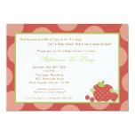 "5x7 Summer Time Fresh Fruit Baby Shower Invitation 5"" X 7"" Invitation Card"