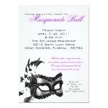 5x7 Sweet 16 Masquerade Ball Birthday Invitation