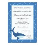 "5x7 Tropical Hawaiian Shark Baby Shower Invitation 5"" X 7"" Invitation Card"