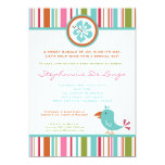 5x7 Tropical Toucan Bird Baby Shower Invitation Personalized Announcements