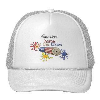 5x8-homeofbrave-firecracker trucker hat