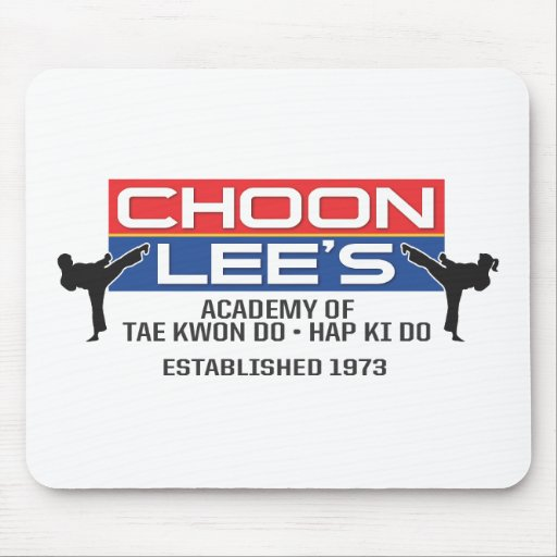 600-2 Choon Lee's Tae Kwon Do Mouse Pad