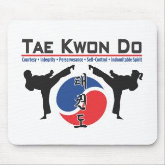600-2 cojín de ratón del Taekwondo Alfombrilla De Ratones