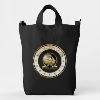 [600] Acquisition Corps (AAC) Regimental Insignia Duck Bag