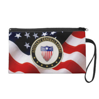 [600] Adjutant General's Corps Branch Insignia [3D Wristlet Purse