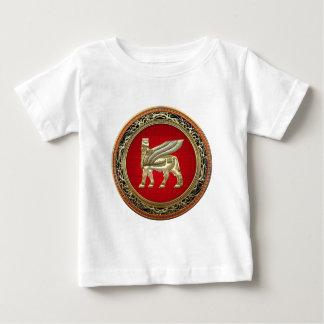 [600] Babylonian Winged Bull Lamassu [3D] Baby T-Shirt