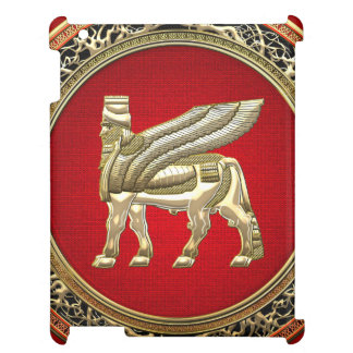 [600] Babylonian Winged Bull Lamassu [3D] Case For The iPad 2 3 4
