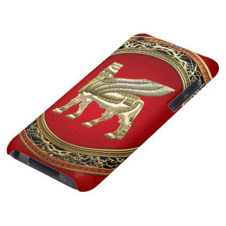[600] Babylonian Winged Bull Lamassu [3D] Case-Mate iPod Touch Case