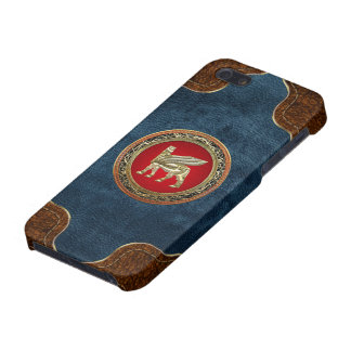 [600] Babylonian Winged Bull Lamassu [3D] Cover For iPhone SE/5/5s