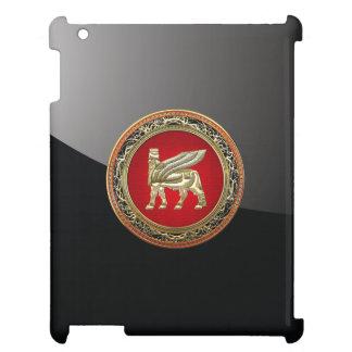 [600] Babylonian Winged Bull Lamassu [3D] iPad Case
