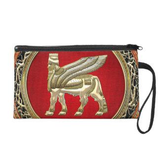 [600] Babylonian Winged Bull Lamassu [3D] Wristlet