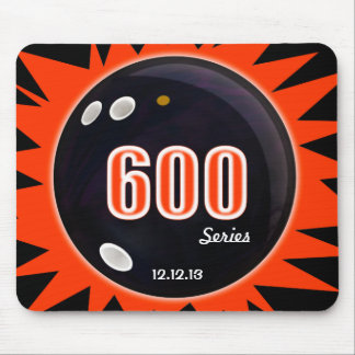 600 Bowling Series Mouse Pad