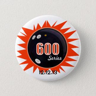 600 Bowling Series Pinback Button