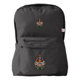 [600] Canada Coat of Arms [3D] Backpack