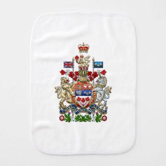 [600] Canada Coat of Arms [3D] Burp Cloths