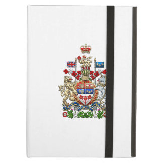 [600] Canada Coat of Arms [3D] Case For iPad Air