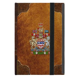 [600] Canada Coat of Arms [3D] Case For iPad Mini