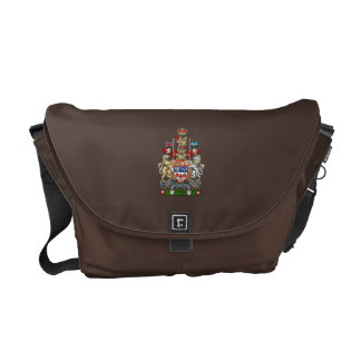 [600] Canada Coat of Arms [3D] Courier Bag