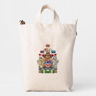 [600] Canada Coat of Arms [3D] Duck Bag