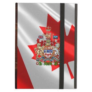 [600] Canada Coat of Arms [3D] iPad Air Case