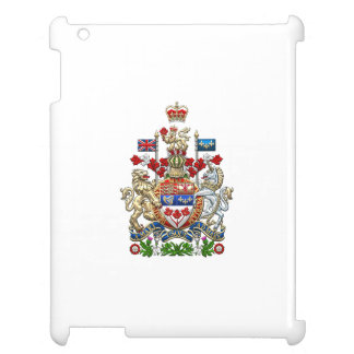 [600] Canada Coat of Arms [3D] iPad Covers