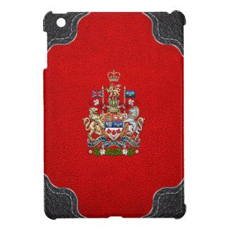 [600] Canada Coat of Arms [3D] iPad Mini Cover