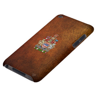 [600] Canada Coat of Arms [3D] iPod Touch Cover