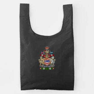 [600] Canada Coat of Arms [3D] Reusable Bag