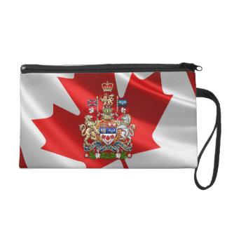 [600] Canada Coat of Arms [3D] Wristlet
