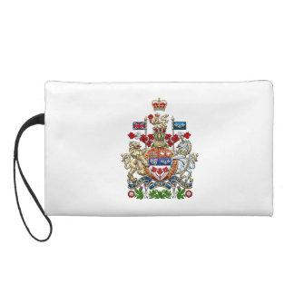 [600] Canada Coat of Arms [3D] Wristlet Purse