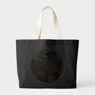 600 Celtic Sacred Art - Three Dogs Bag
