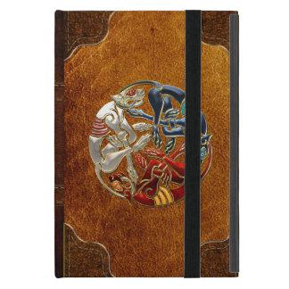 [600] Celtic Sacred Art - Three Dogs iPad Mini Cover