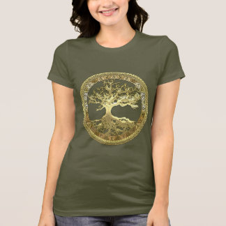 [600] Celtic Tree of Life [Gold] T-Shirt