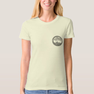[600] Celtic Tree of Life [Silver] T-shirt