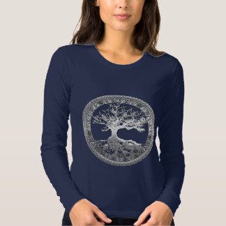 [600] Celtic Tree of Life [Silver] T Shirt