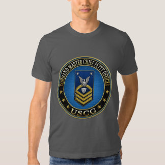 [600] CG: Command Master Chief Petty Officer (CMC) T Shirts