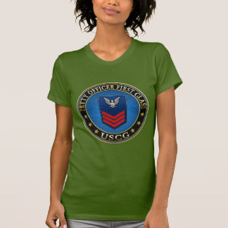 [600] CG: Petty Officer First Class (PO1) Tshirts