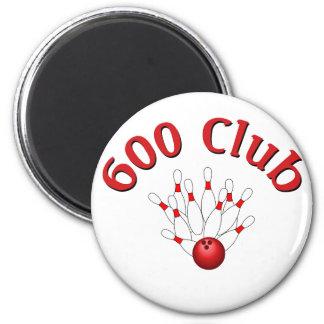 600 club 3 imán para frigorífico