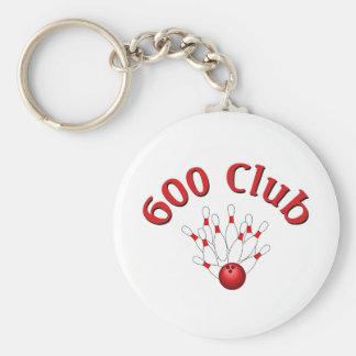 600 Club 3 Key Chain