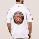 [600] Corpo De Fuzileiros Navais [el Brasil] (CFN) Camisetas Polos