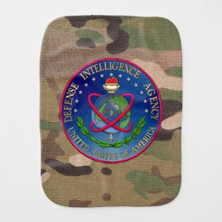 [600] Defense Intelligence Agency (DIA) Seal Baby Burp Cloths