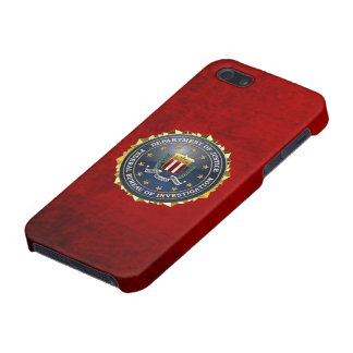 [600] FBI Special Edition iPhone 5/5S Cover