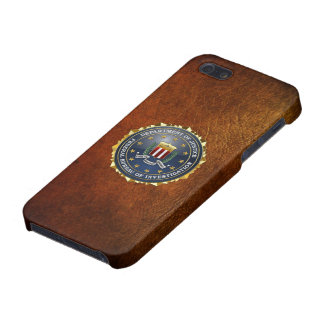 [600] FBI Special Edition Case For iPhone 5