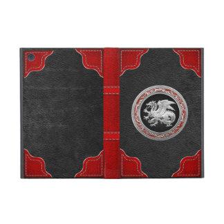 [600] Icelandic Dragon, Landvættir [Silver] Cover For iPad Mini