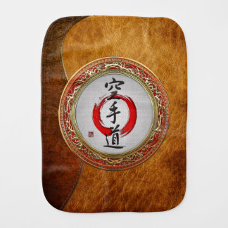 [600] Japanese calligraphy - Karate-do Baby Burp Cloth