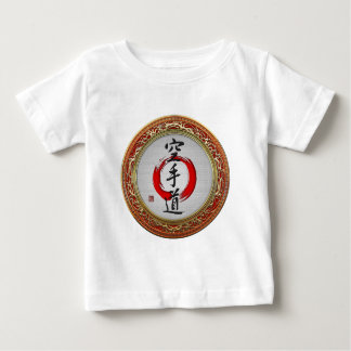 [600] Japanese calligraphy - Karate-do Baby T-Shirt