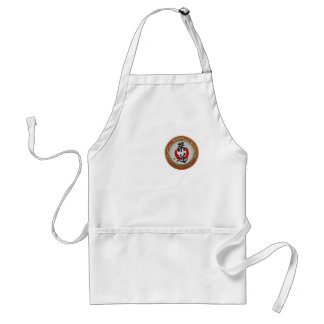 [600] Japanese Martial Arts Calligraphy: Judo Adult Apron