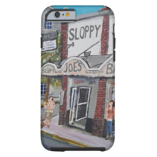 #600 Key West, la Florida por BuddyDogArt Funda Para iPhone 6 Tough