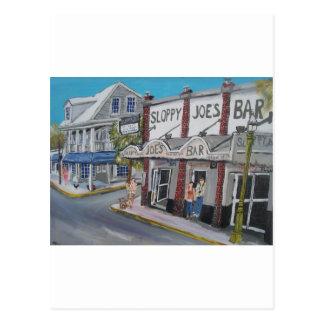 #600 Key West, la Florida por BuddyDogArt Tarjeta Postal