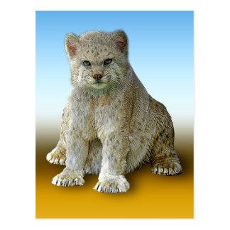 600 lb Cat - Vertical Postcard2 Postcard